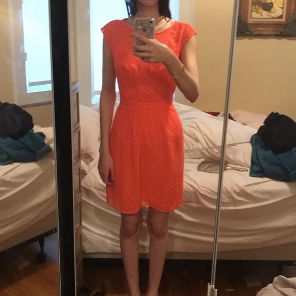 J. Crew Dresses & Skirts - JCREW neon chevron summer dress.